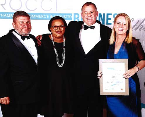 Winner 2018/2019 ROCCI/FNB Business of the Year Awards (Silver)